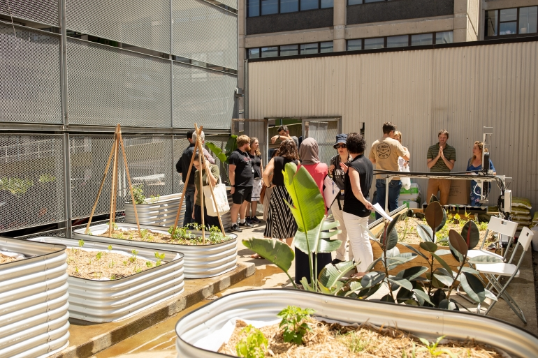 Urban Growers garden